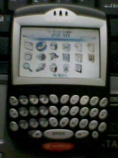 黑莓7290